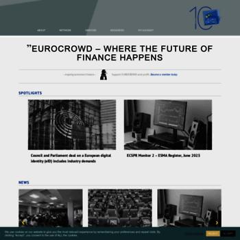 Eurocrowd.org thumbnail