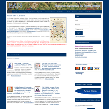 Eurojewishstudies.org thumbnail