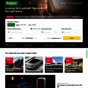 Europcar.ch thumbnail