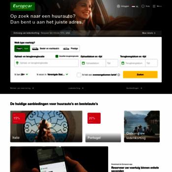 Europcar.nl thumbnail