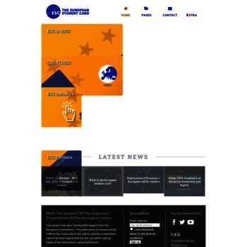 Europeanstudentcard.eu thumbnail