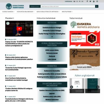 Euskaltzaindia.eus thumbnail