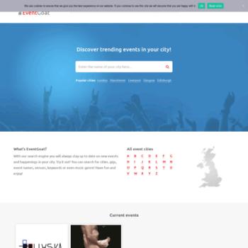 Eventgoat.co.uk thumbnail
