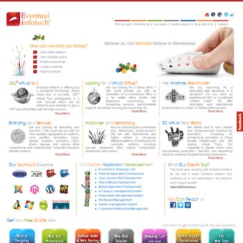Eventualinfotech.com thumbnail