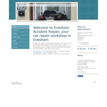 Eveshamaccidentrepair.co.uk thumbnail