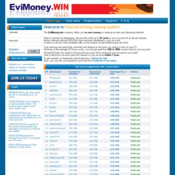 Evimoney.win thumbnail