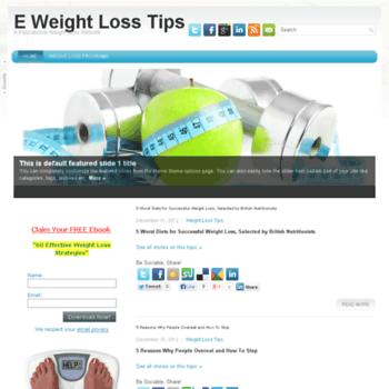 Eweightlosstips.net thumbnail