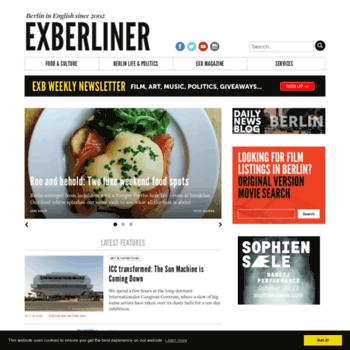 Exberliner.net thumbnail