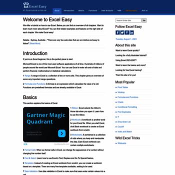 Excel-easy.com thumbnail
