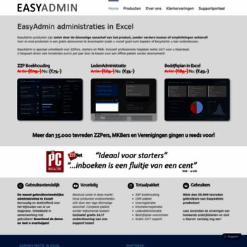 Excelboekhouding.nl thumbnail