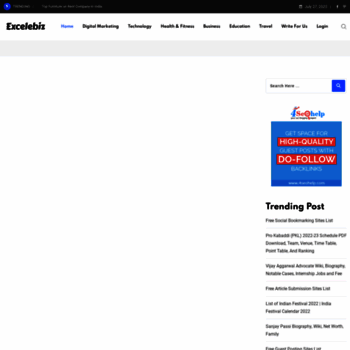 excelebiz in at WI  Submit Free Guest Post | Instant Approval Guest