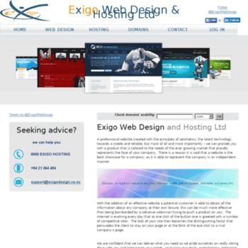 Exigodesign.co.nz thumbnail