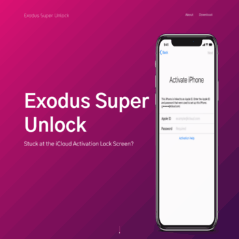 exodussuperunlock com at WI  Exodus Super Unlock - Software to