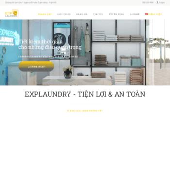 Expresslaundry.com.vn thumbnail