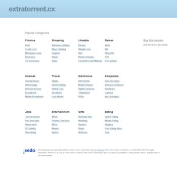 extratorrent cx at Website Informer  Visit Extratorrent