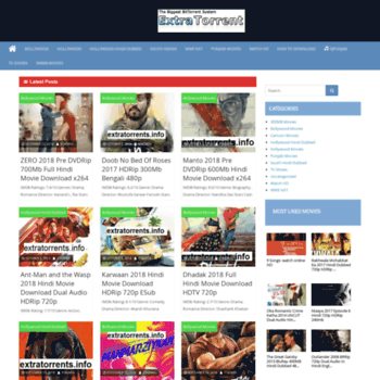 extra torrent hindi movie .com