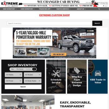 Extremedodge Com At Wi Extreme Dodge Chrysler Jeep Ram New Used
