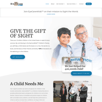 b595364472b eyecare4kids.org at WI. EyeCare 4 Kids – Free Eye Care – Give the ...