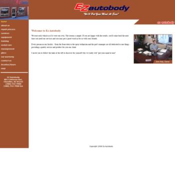 Ezautobody.biz thumbnail