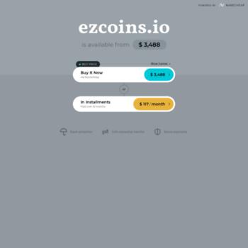 Ezcoins.io thumbnail