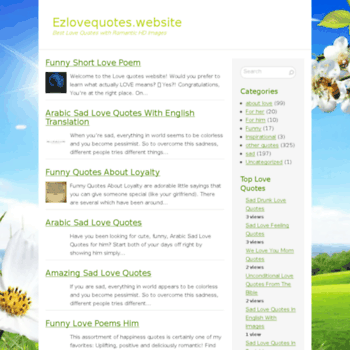 ezlovequotes website at WI  Your website has been disabled