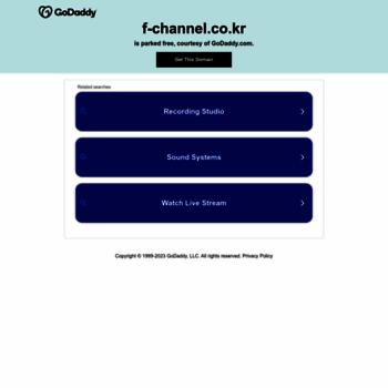 F-channel.co.kr thumbnail