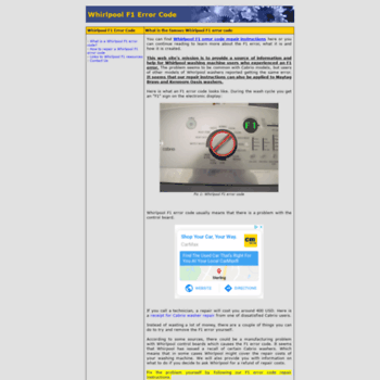 F1error.info thumbnail