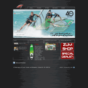 f2-surf com at WI  F2 International - Surf
