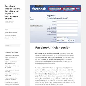 Facebookiniciarsesion.org thumbnail
