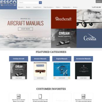 factoryautomanuals com at WI  Essco Aircraft Manuals and