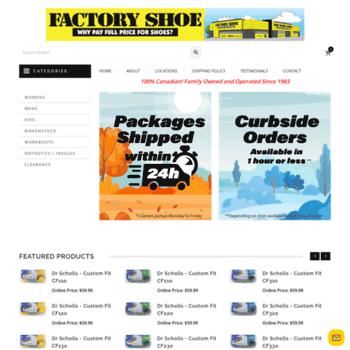 1683eb7b9c factoryshoe.ca at WI. Factory Shoe