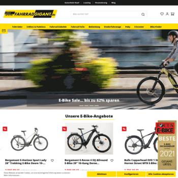 Fahrradgigant.de thumbnail
