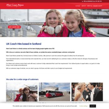 Fairlinecoaches.co.uk thumbnail