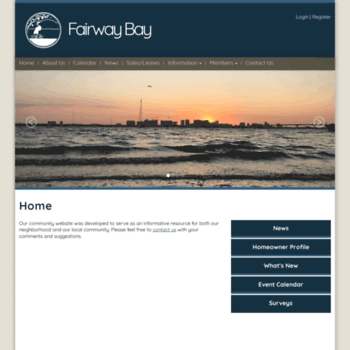 Fairwaybay.org thumbnail
