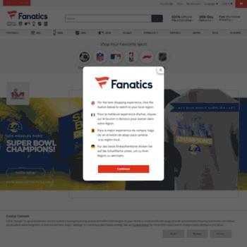 Fanatics.co.uk thumbnail