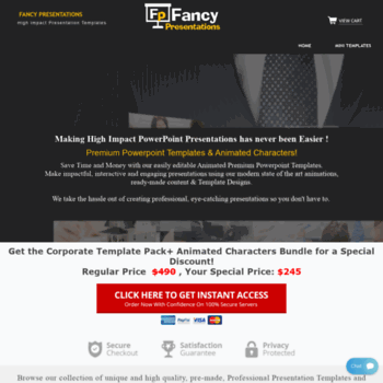 fancypresentations com at WI  Premium Powerpoint Templates