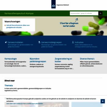 Farmacotherapeutischkompas.nl thumbnail