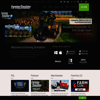 farming-simulator com at WI  Official Website | Farming