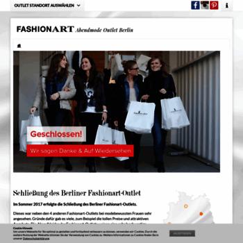 2ce27d06b8bf2f fashionart-berlin.de at WI. Fashionart Berlin - Outlet für Abendmode ...