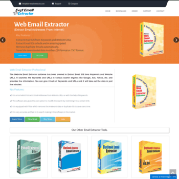 fast-email-extractor com at WI  Fast Email Extractor | Fetch Emails