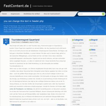 Fastcontent.de thumbnail