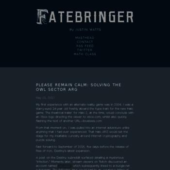 Fatebringer.net thumbnail