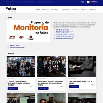Fatecjales.edu.br thumbnail
