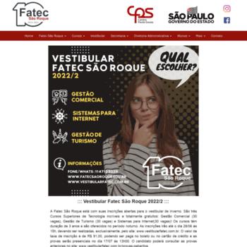 Fatecsaoroque.edu.br thumbnail