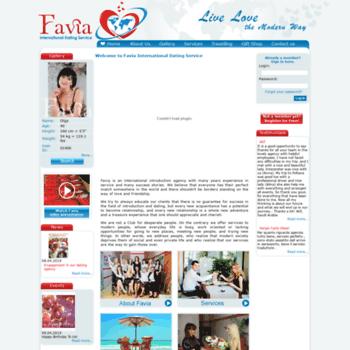 Favia internationale dating service