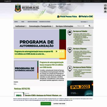 Fazenda.rs.gov.br thumbnail