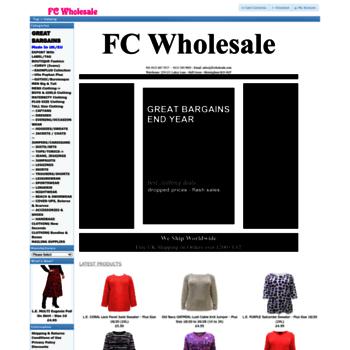 Fcwholesale.com thumbnail