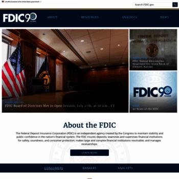 Fdic.gov thumbnail