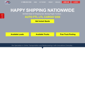fdsdispatch com at WI  Auto Load Board   Car Load Board