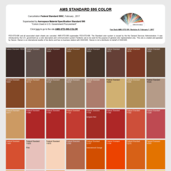 federalstandardcolor com at WI  Federal Standard Color and